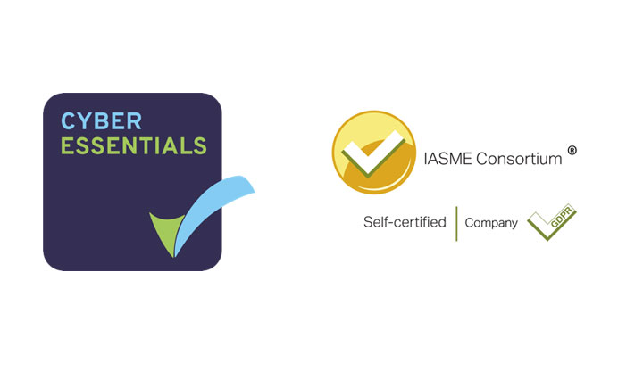 We are now Cyber Essentials and IASME accredited